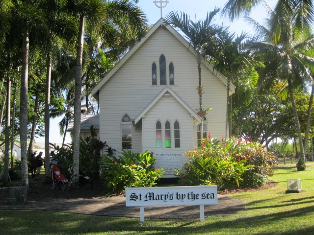 St. Mary's by the Sea, amazing location for a Port Douglas wedding!