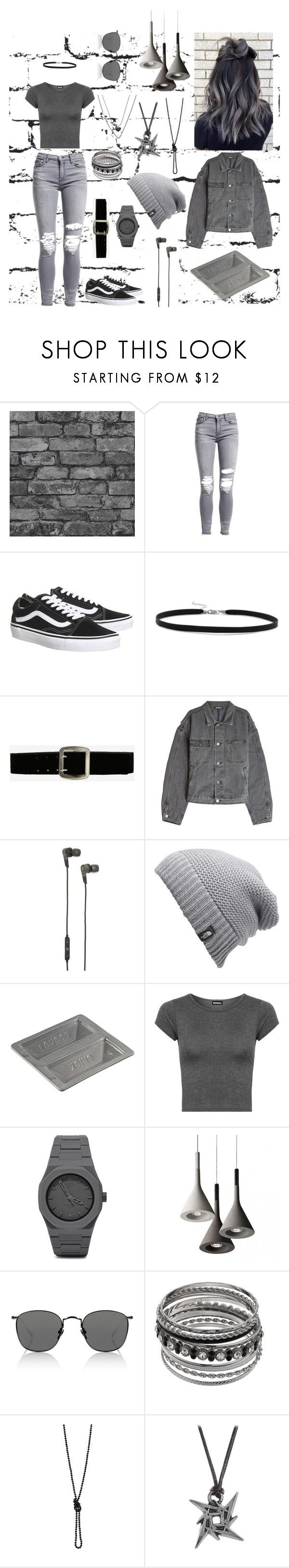 """""""Grey contest"""" by jaden5923 ❤ liked on Polyvore featuring AMIRI, Topshop, BillyTheTree, Express, Yeezy by Kanye West, B&O Play, The North Face, StolenForm, WearAll and CC"""