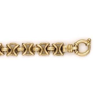 Buy our Australian made 9ct Gold Fancy Gate Chain - - Ballarat online. Explore our range of custom made chain jewellery, rings, pendants, earrings and charms.