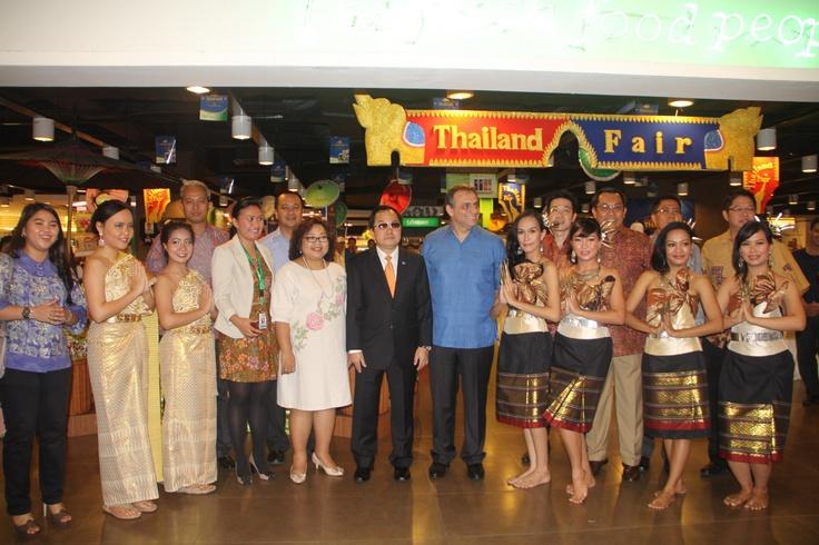 Opening Ceremony Thailand Fair di Hero Mal Taman Anggrek