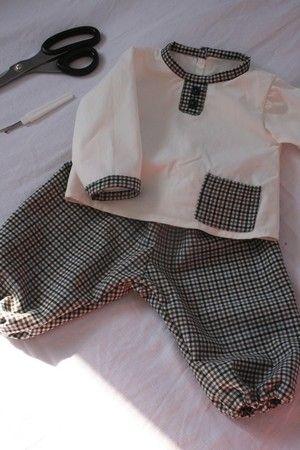 Couture bébé garçon