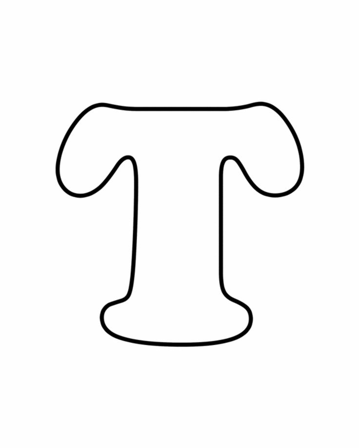 Priceless image for printable letter t