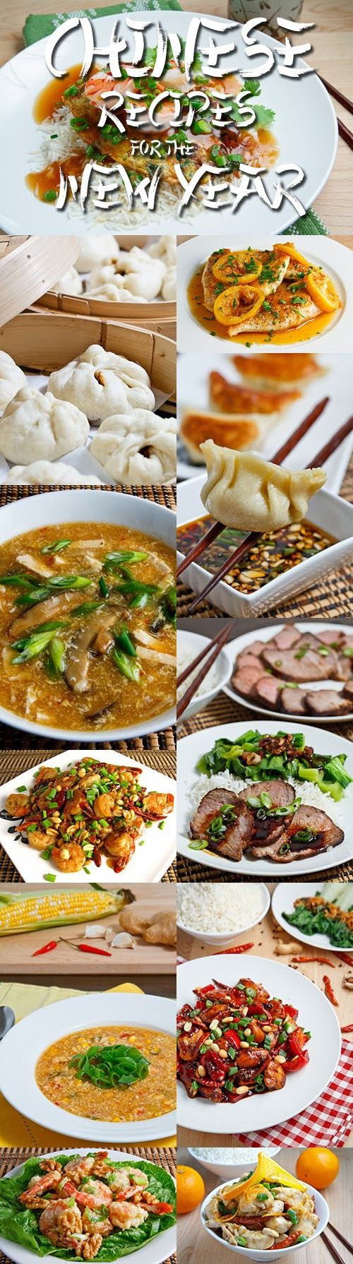 17 Chinese Recipes for the New Year.....MY FAVORITTE THING IS IN THIS :DDDDDD