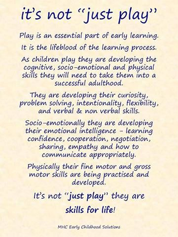 """it's not """"just play!"""""""