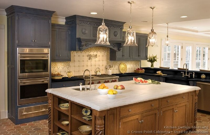 Charcoal Kitchen Cabinets  Future Home  Pinterest