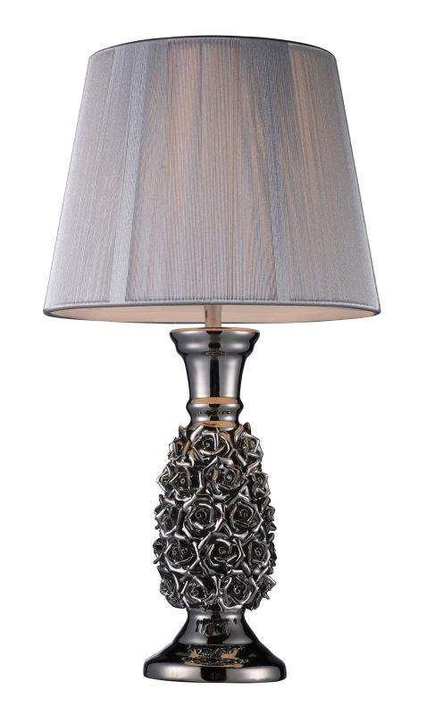 Dimond Lighting D1447 1 Light Table Lamp from the Roseto Collection Alisa Lamps Table Lamps