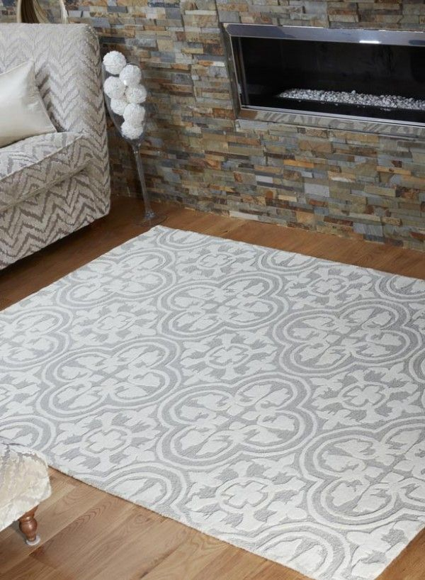 Textures Gold Impala Rugs In Grey Cream