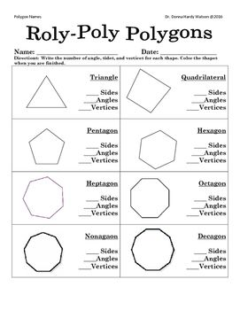 From triangle to dodecagon, students can learn the names ...