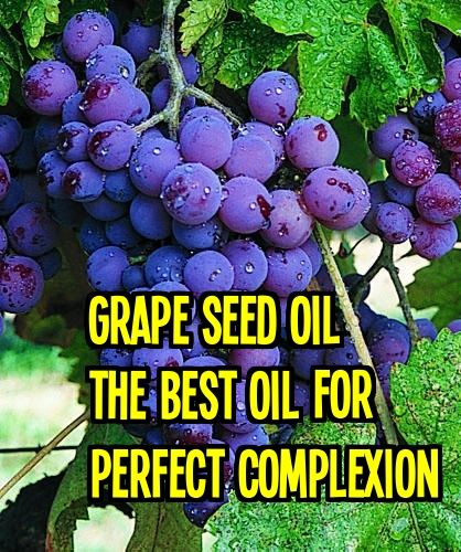 What I found best about #Grapeseed oil is that is is a powerful #antioxidant that protects the skin from premature aging, is effective in fighting acne and it can even shrink varicose veins. In fact, I read that it helps to protect the skin from sun damage and this is why I find it a great oil to use along with my sunscreen... keep reading ..   http://beautytips.givingtoyou.com/grape-seed-oil-for-a-perfect-complexion/