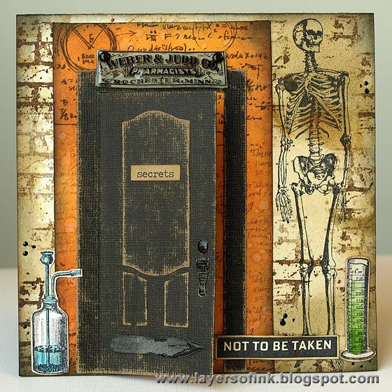 Apothecary Pop-Up Card - Layers of ink & 27 best Sizzix Door Die ideas images on Pinterest | Cards Window ... pezcame.com