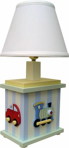 Transportation Table Lamp | Jack and Jill Boutique