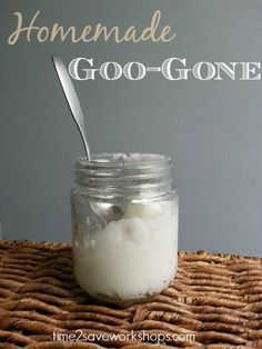 Homemade Goo Gone - Using only 2 ingredients | Remove Labels, Residue AND Print! - Also removes Ink.