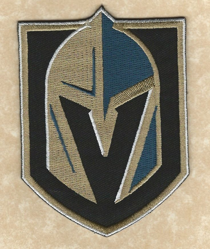 "Golden Knights Las Vegas   LAS VEGAS GOLDEN KNIGHTS 4""Iron-on New NHL Hockey Logo Jersey/Shirt ..."