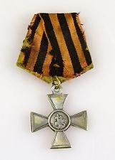 Russische zaristische Medaille Orden Hl.Georg Kreuz Silber 4 Kl .Russland