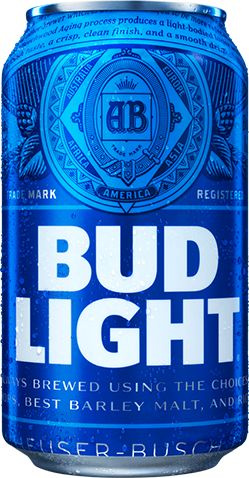 Budlight Premium aroma hop varieties—American-grown and imported—plus barley malts and rice go into the world's favorite light beer.