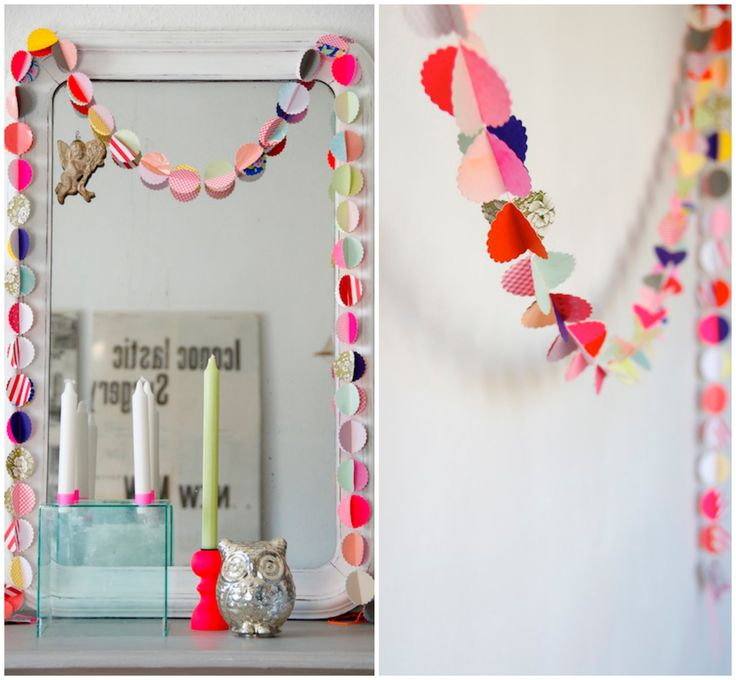 Paper Garland Ideas by Blog Kleine Schwester