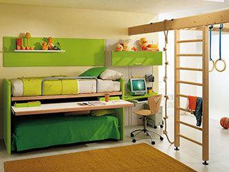 Меблі-трансформер двоповерхове ліжко