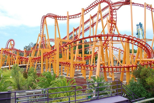 """Ride every roller coaster in the United States... On a fast pass of course.*    """"I'm having a great time. It's like I'm on some ridiculous big roller coaster not knowing what's happening next, but just having a great time on the ride.""""  - Samantha Mumba  *Might take more than one summer"""