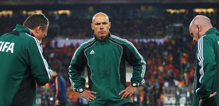 England's Howard Webb will referee his second World Cup finals