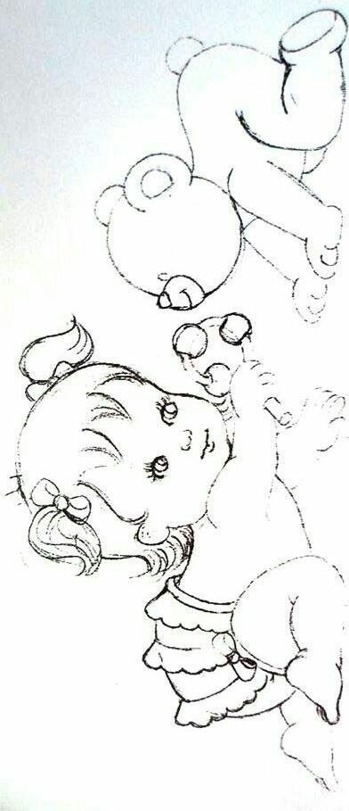 Pintura em tecido   riscos   para bebês