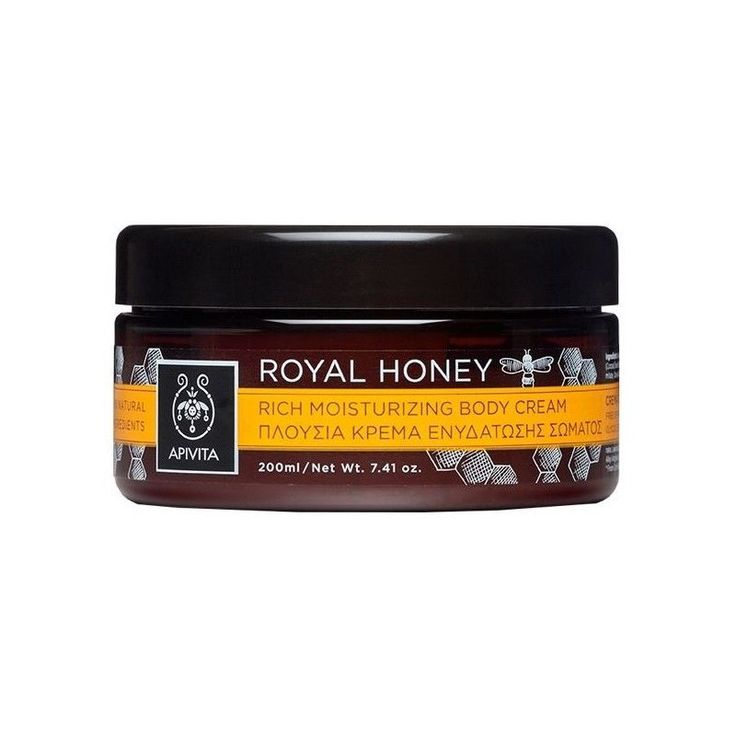 Apivita Royal Honey Rich Moisturizing Body Cream,200ml