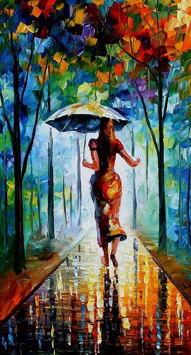 Running Towards Love Painting  - Running Towards Love Fine Art Print, Frameable Print $22.00