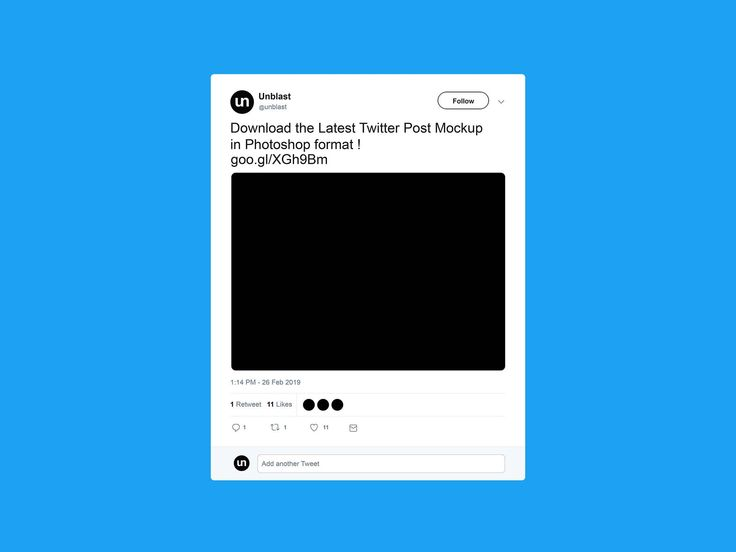 Free Twitter Post Mockup 2019 For Blank Twitter Profile Template Best Sample Template Twitter Template Mockup Templates