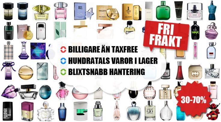 Moodelle.se säljer parfym på nätet till låga priser.
