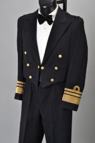 HMS-Rodney-WW2-Veteran-Admiral-039-s-1933-Dated-Mess-Dress-Uniform-Ref-EVH