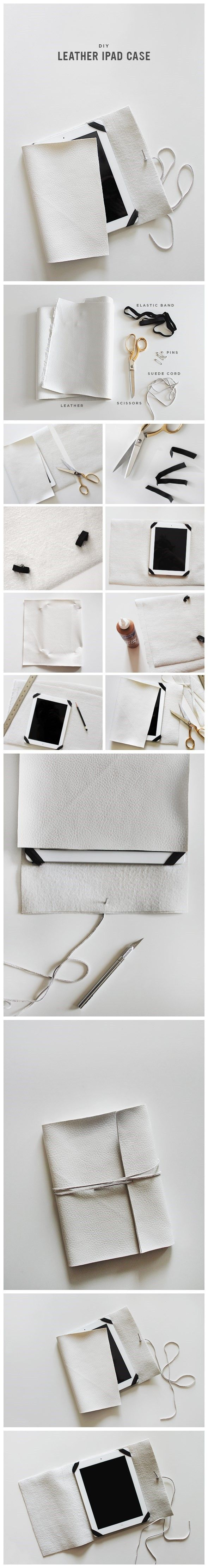 How To Diy Leather Ipad Case