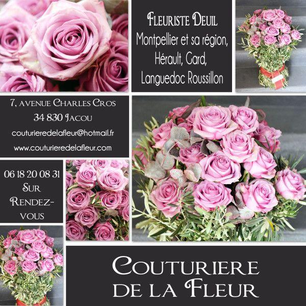 Livraison Fleurs Deuil Montpellier - Espace funéraire Grammont - Ambiance Chic
