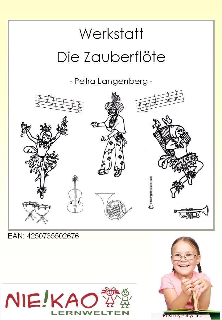 Werkstatt - Die Zauberflöte. Mozartwerkstatt rund um den Komponisten und seine Oper rund um die Königin der Nacht.