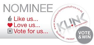 Nominated in the Gourmand category for a Klink Award!
