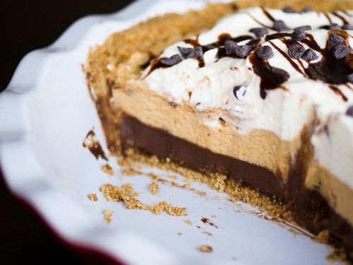 Pie of the Week: Black-Bottom Peanut Butter Mousse Pie | Butter pie ...