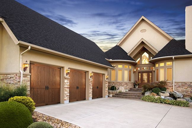 Garage Door PanelsPanel DoorsGarage Door RepairSectional Garage DoorsResidential Garage DoorsGarage Door OpenerGeorgian HouseGarage Door InstallationHouse ... & 14 best Residential garage doors Langley repair images on Pinterest ...