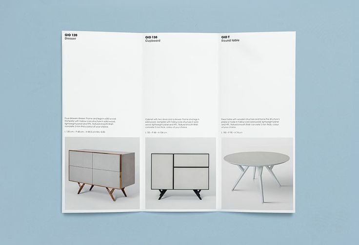 Pamphlet designed by St for cement veneer product Cemento featured on BP&O