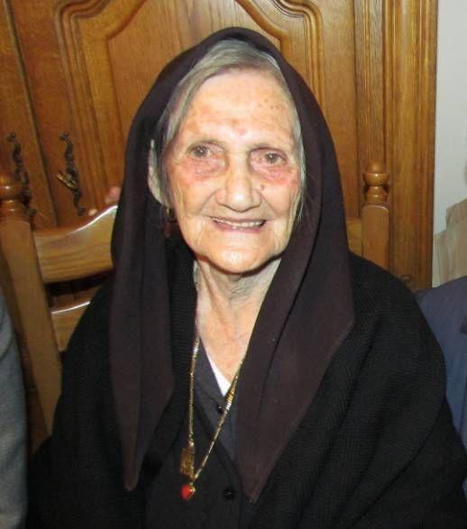 Zia Rosaria-Saba-100-anni. Orosei