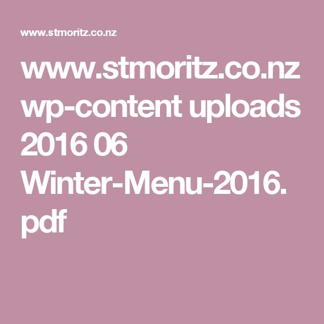 www.stmoritz.co.nz wp-content uploads 2016 06 Winter-Menu-2016.pdf