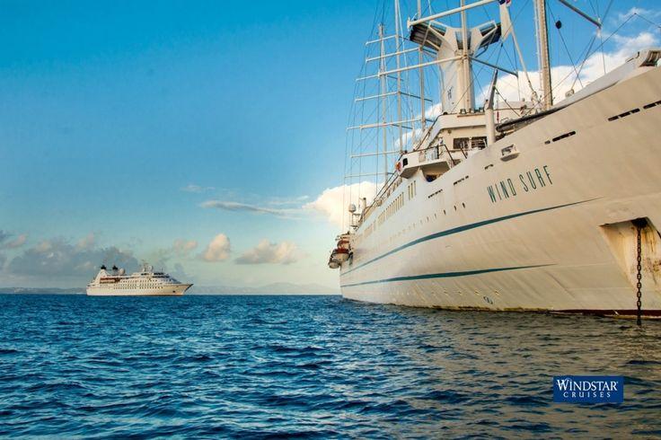 Nuovi itinerari europei nella programmazione 2018 di Windstar Cruises