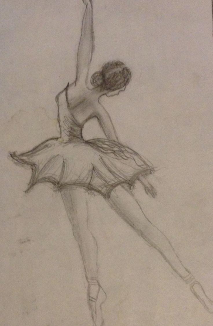 Not so original doodle of a ballerina