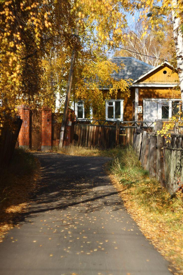 #soviet #autumn #countryhouse