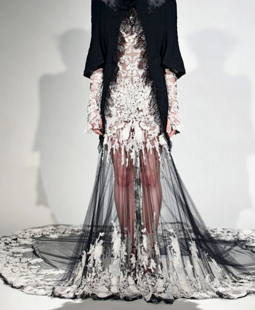 Someone should walk down the aisle in this.