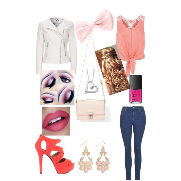 Untitled #7 by littleskate on Polyvore featuring polyvore, fashion, style, Monsoon, Wallis, Topshop, Qupid, 3.1 Phillip Lim and NARS Cosmetics