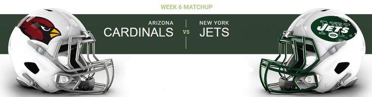 New York Jets at Arizona Cardinals University of Phoenix Stadium — Glendale, AZ on Mon Oct 17 at 5:30pm, From $48.00