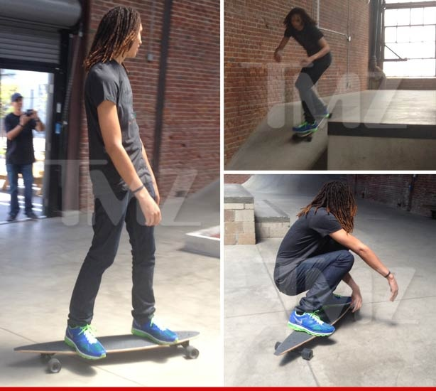 Brittney Griner -- Skateboard Clause In WNBA Contract ...  'I Know What's At Stake'