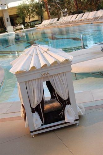 Royal Cabana Luxury Dog Bed...only $6,900!