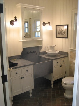 Like The Look Of Soapstone Utility Sink. Backsplash Wouldnu0027t Work For  Current Kitchen