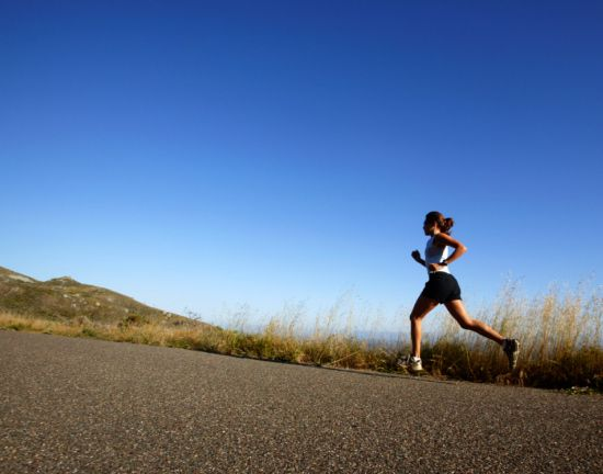 The 300-Calorie-Burning Walking-Jogging Workout. This looks like fun intervals at a comfortable pace.