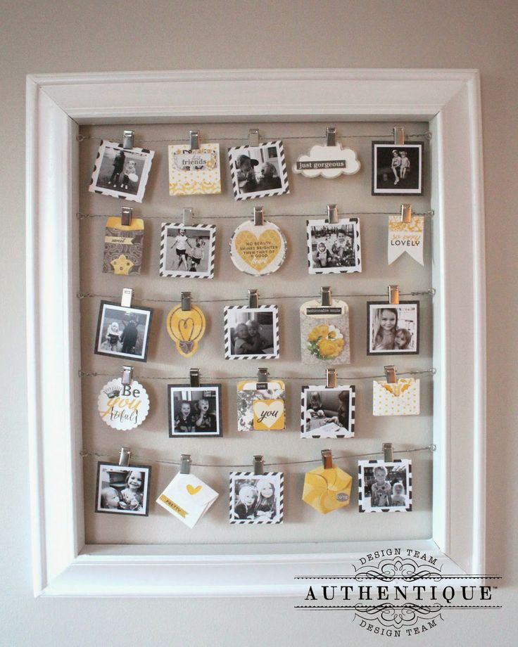 Beautiful Home Decor with @beauthentique and @silhouettepins Created by Design Team Member Heather Conklin