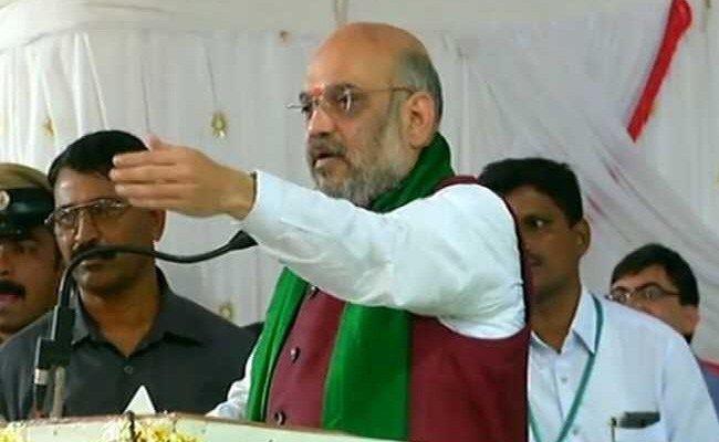 Amit Shah Mocks, Mimics Rahul Gandhi: Watch